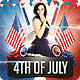 4th of July Party Flyer - GraphicRiver Item for Sale