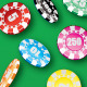 Poker Chip Scatter Brush & Ready-made Objects - GraphicRiver Item for Sale