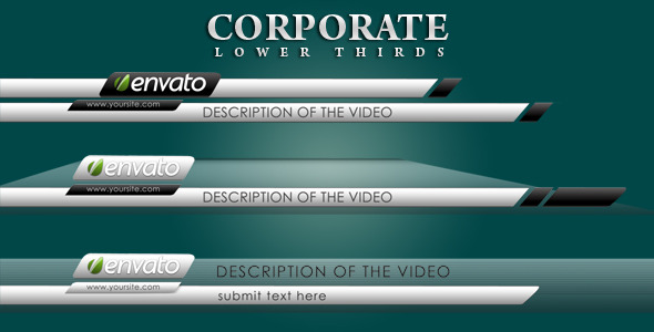 VideoHive Corporate Lower Thirds 2491377