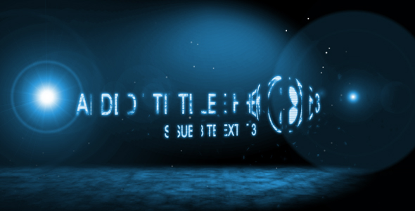 After Effects Project - VideoHive Disappearance Text Sequence 91161