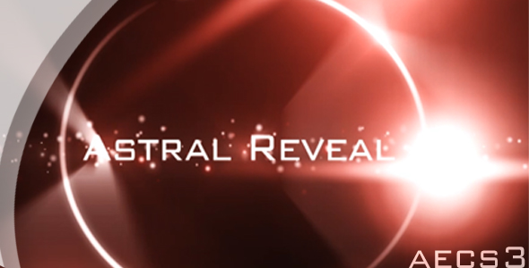 After Effects Project - VideoHive Astral Reveals Titles 91218