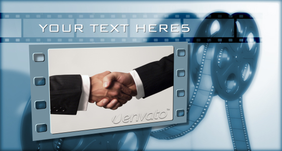 After Effects Project - VideoHive Film Strip Project 91331