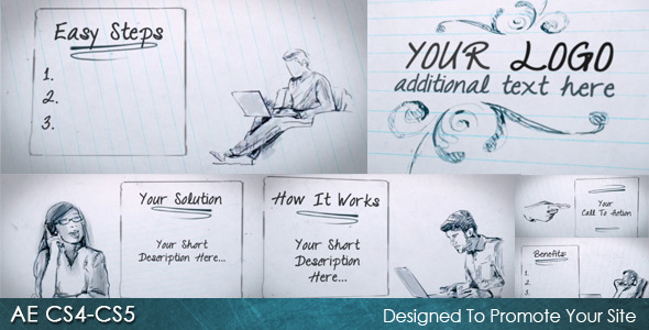 After Effects Project - VideoHive Quick Sketch 2483040