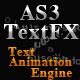AS3TextFX - Text Animation Engine - ActiveDen Item for Sale