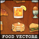 Realistic Food Vectors - GraphicRiver Item for Sale