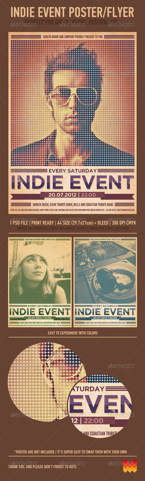 GraphicRiver Indie Event Flyer Poster 2503459