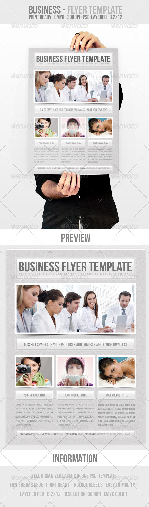 GraphicRiver Business Flyer Template 280534