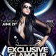 Exclusive Glamour Party Flyer Template - GraphicRiver Item for Sale
