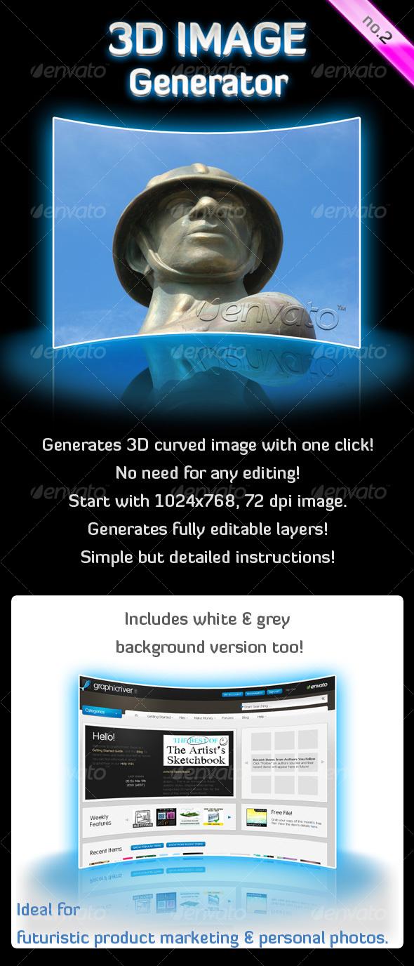 GraphicRiver 3D Image Generator Action no 2 91530