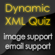 Dynamic XML Quiz with Image Support - ActiveDen Item for Sale