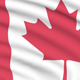 Canada seamlessly looping flag - VideoHive Item for Sale