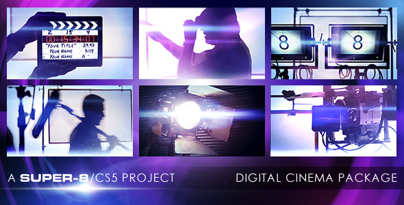 After Effects Project - VideoHive Digital Cinema Package 2517165