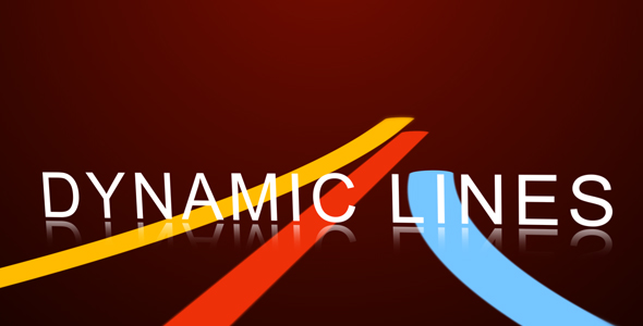 After Effects Project - VideoHive Dynamic Lines HD 91895