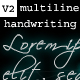 Digital Handwriting V2 - Multiline Support - ActiveDen Item for Sale