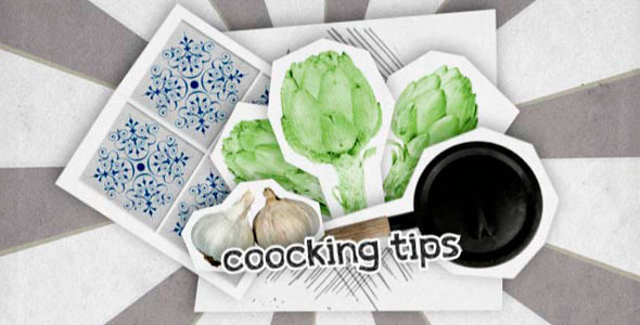 VideoHive TV Coocking Motion Graphic Elements 2462459