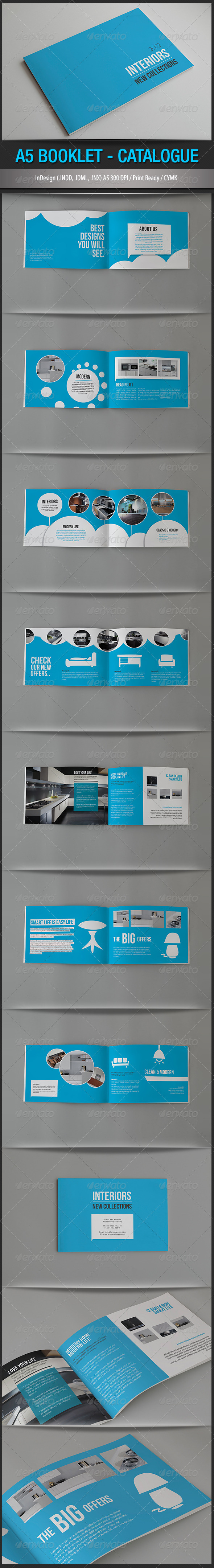 GraphicRiver A5 Booklet Catalogue 1529085