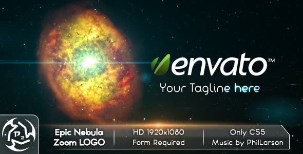 VideoHive Epic Nebula Zoom Logo 2527156