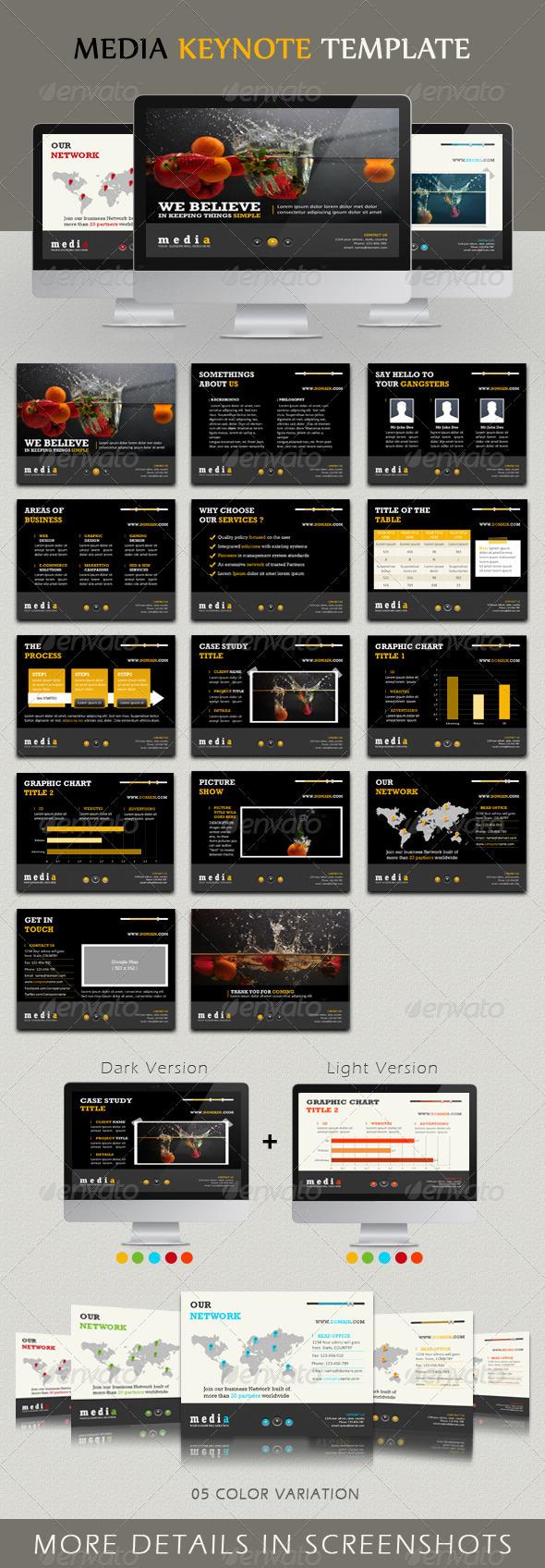 GraphicRiver Media Keynote Template 2527406