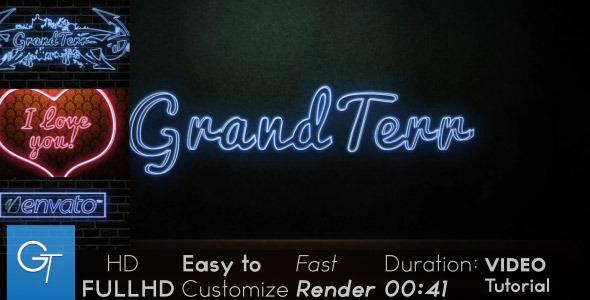 VideoHive Neon 2527950