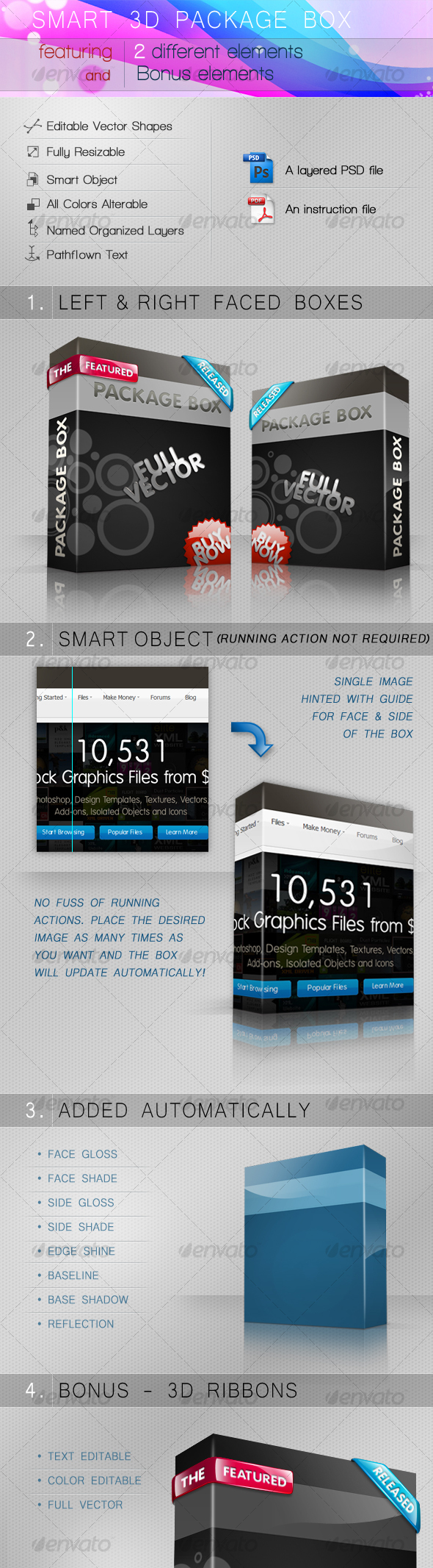 GraphicRiver Smart 3D package box 92367