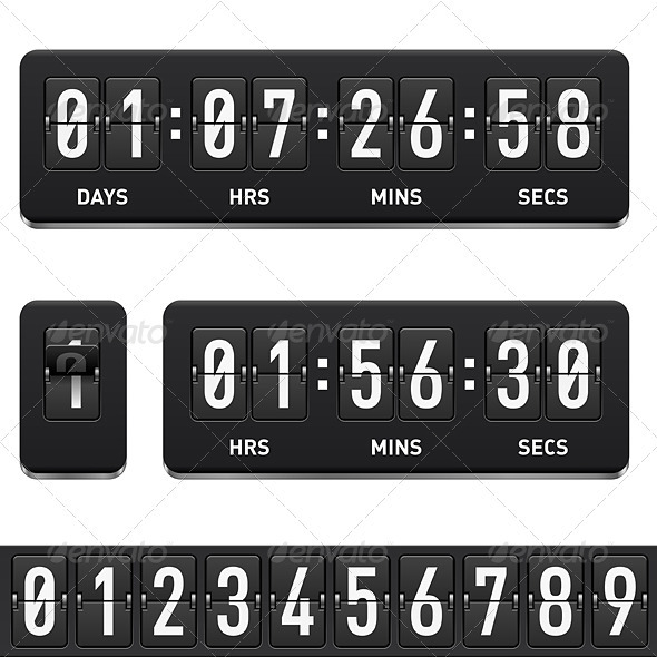 GraphicRiver Countdown timer 2531133