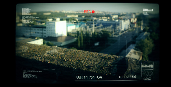 VideoHive System Camera Recording Screen 2531882