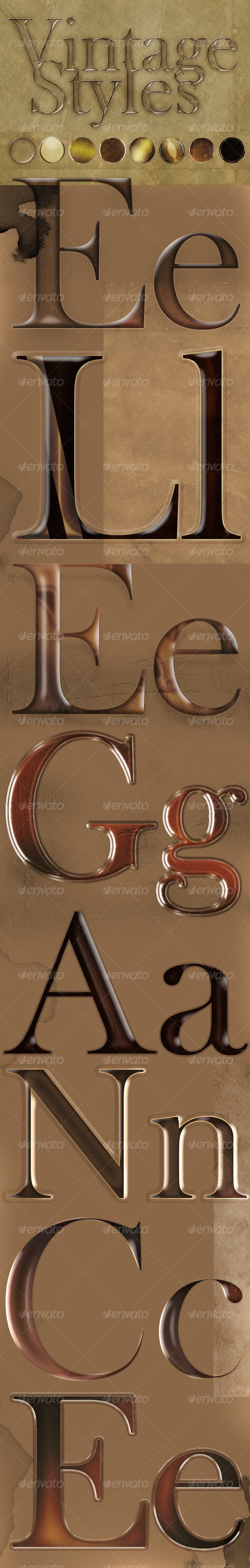 GraphicRiver Vintage Text Style Effects 91580