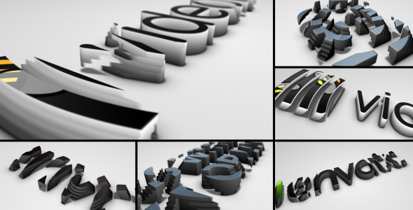 VideoHive Logo Extrusions 2532449