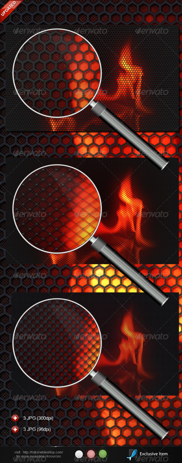 GraphicRiver Burning Carbon 514077