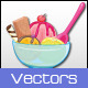 Dessert Vectors - GraphicRiver Item for Sale