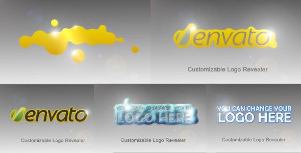 VideoHive Fluid logo reveler 2536550