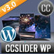 CCSlider WP - 3d/2d Slideshow WordPress Plugin - CodeCanyon Item for Sale