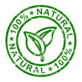 100% Natural Stamp Shows Pure Genuine Products - PhotoDune Item for Sale