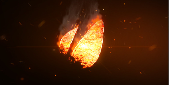 After Effects Project - VideoHive Logo Fire 2527926