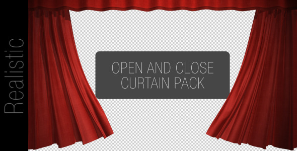 After Effects Project - VideoHive Curtain Open And Close Pack 2543761