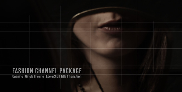 After Effects Project - VideoHive Broadcast Design Fashion Channel Package  ...