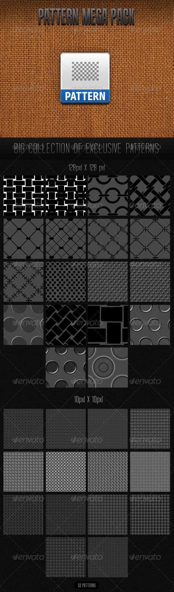 GraphicRiver Patterns Mega Pack 116767