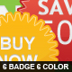 Colorful Badge / Sticker Collection - GraphicRiver Item for Sale