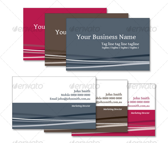 GraphicRiver Business Card 01 92849