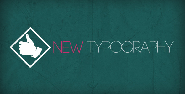 After Effects Project - VideoHive Stylish Typography 2550084
