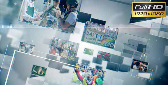 VideoHive The World Today 2550798