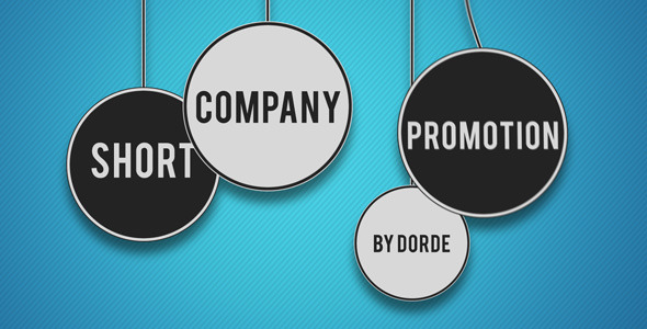 After Effects Project - VideoHive Short Company Promotion 2551164