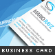 Rainbow Business Card