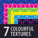 7 Colourful Textures - GraphicRiver Item for Sale