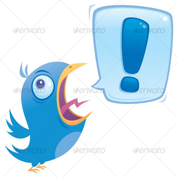 GraphicRiver Shouting Bluebird 93143