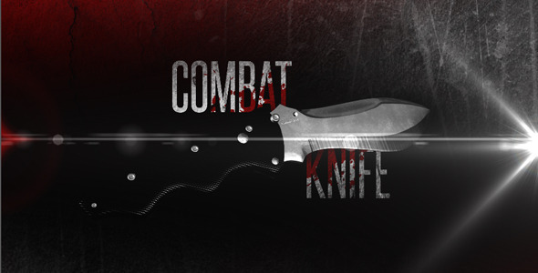 VideoHive Combat Knife 2558915