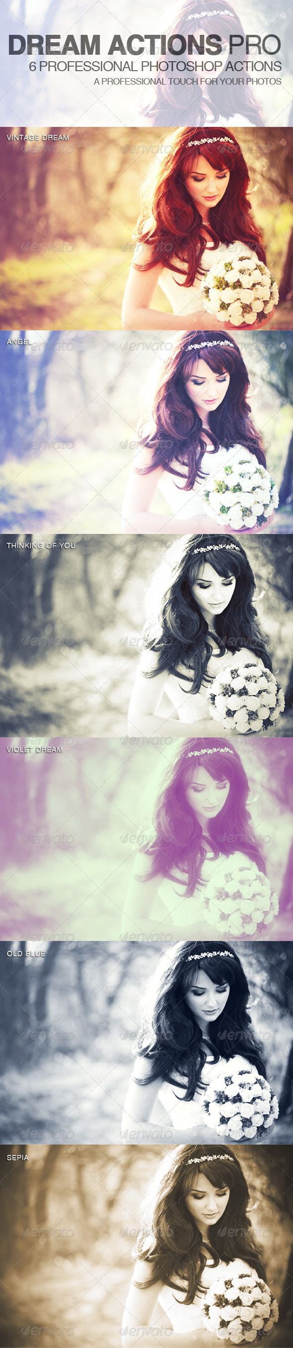 GraphicRiver Dream Actions PRO Photo Effects 2560707