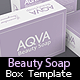 BeautySoap Box Packaging Template - GraphicRiver Item for Sale