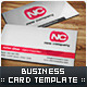 NewCompany Business Card Template - GraphicRiver Item for Sale