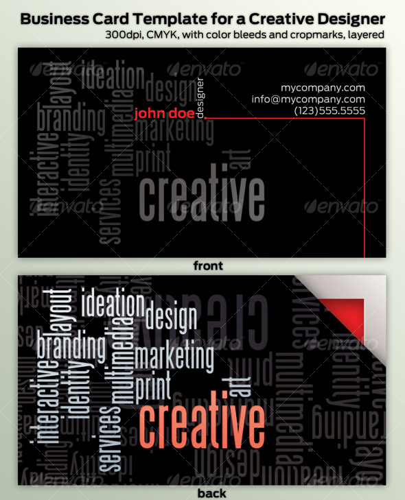GraphicRiver Creative Professional s Business Card 93298